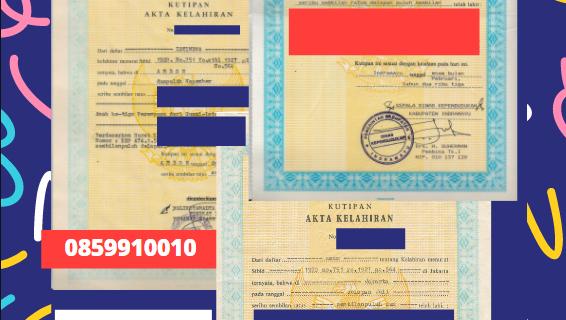 Jasa Legalisir Akta Lahir Indonesia Di Ajdovščina – Slovenia    08559910010