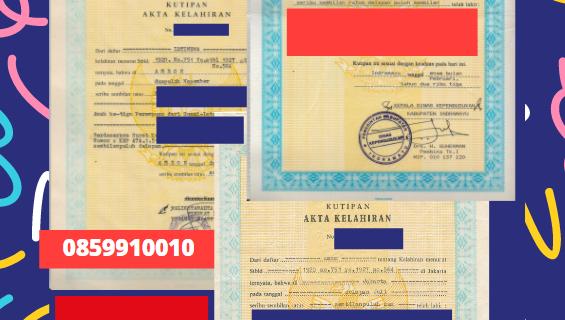 Jasa Legalisir Akta Lahir Indonesia Di Batman – Turki    08559910010
