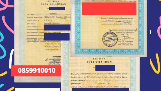 Jasa Legalisir Akta Lahir Indonesia Di Bled – Slovenia    08559910010