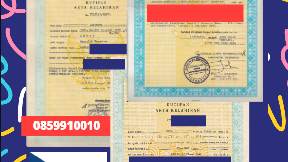 Jasa Legalisir Akta Lahir Indonesia di Daerah Bohemia Selatan (Jihočeský kraj) – Ceko || 08559910010