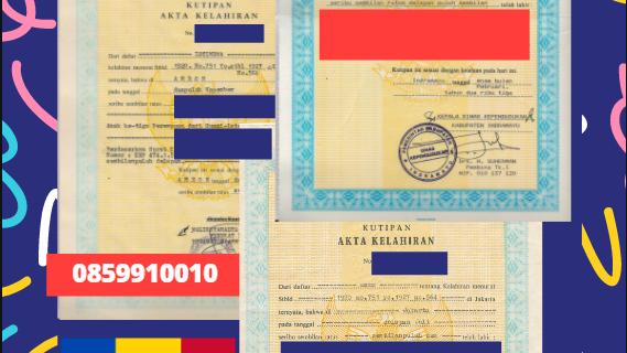 Jasa Legalisir Akta Lahir Indonesia di Cimişlia – Moldova    08559910010