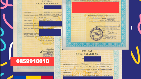 Jasa Legalisir Akta Lahir Indonesia di Drochia – Moldova || 08559910010