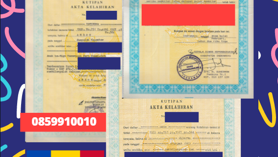 Jasa Legalisir Akta Lahir Indonesia di Edineţ – Moldova || 08559910010