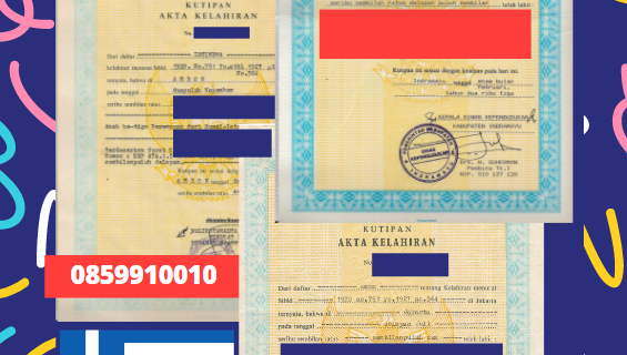 Jasa Legalisir Akta Lahir Indonesia Di Eleusina – Yunani || 08559910010