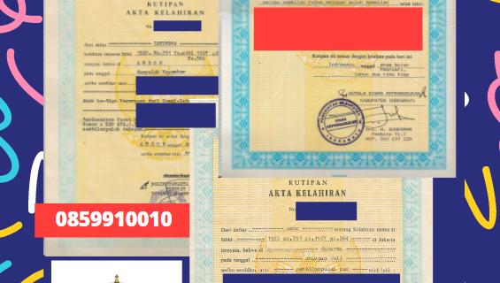 Jasa Legalisir Akta Lahir Indonesia Di Fiorentino – San Marino || 08559910010