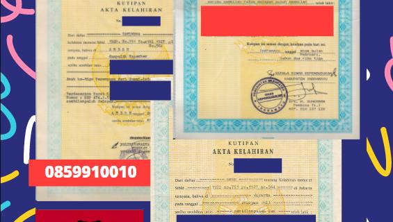 Jasa Legalisir Akta Lahir Indonesia Di Vlorë – Albania    08559910010