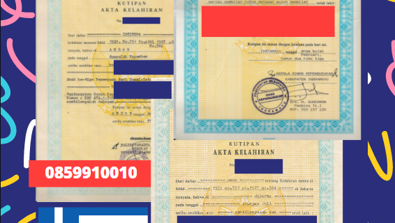 Jasa Legalisir Akta Lahir Indonesia Di Heraklion – Yunani || 08559910010