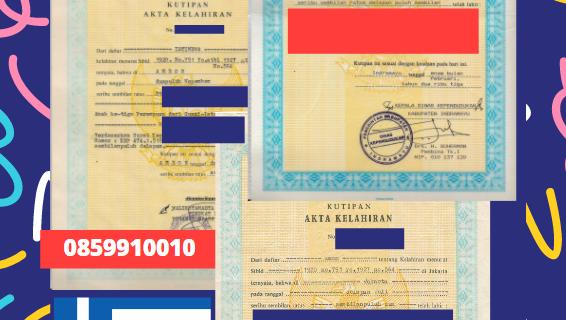 Jasa Legalisir Akta Lahir Indonesia Di Ioannina – Yunani || 08559910010