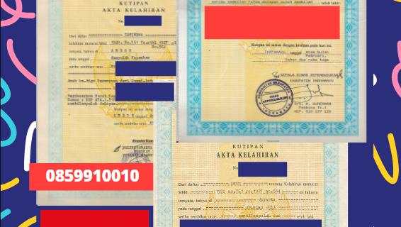 Jasa Legalisir Akta Lahir Indonesia Di Izmir (aggl.) – Turki || 08559910010