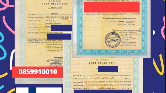 Jasa Legalisir Akta Lahir Indonesia di Hämeenlinna – Finlandia || 08559910010