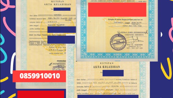 Jasa Legalisir Akta Lahir Indonesia Di İzmit – Turki || 08559910010