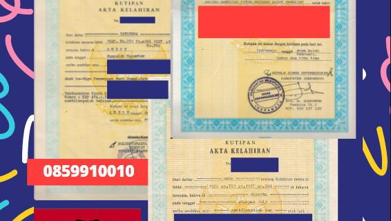 Jasa Legalisir Akta Lahir Indonesia Di Korçë- Albania    08559910010