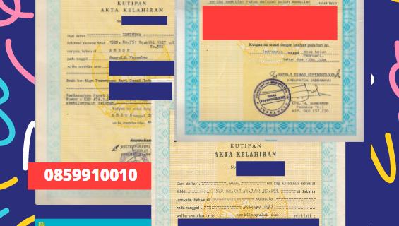 Jasa Legalisir Akta Lahir Indonesia Di Baikonur – Kazakhstan || 08559910010