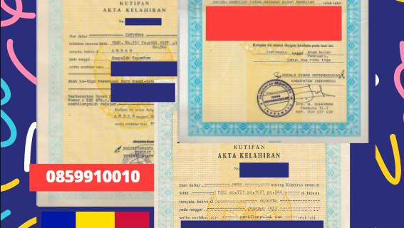 Jasa Legalisir Akta Lahir Indonesia Di La Massana – Andorra || 08559910010