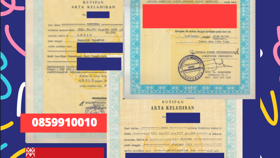 Jasa Legalisir Akta Lahir Indonesia Di Minsk – Belarus    08559910010