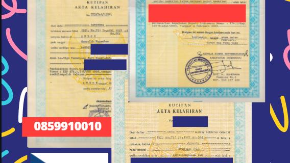 Jasa Legalisir Akta Lahir Indonesia di Ostrava – Ceko    08559910010