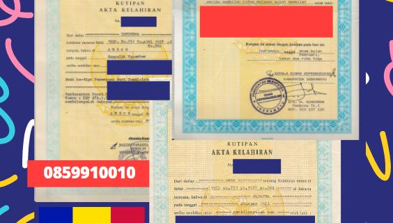 Jasa Legalisir Akta Lahir Indonesia Di Ordino – Andorra || 08559910010