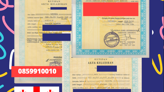 Jasa Legalisir Akta Lahir Indonesia Di Gori – Georgia || 08559910010