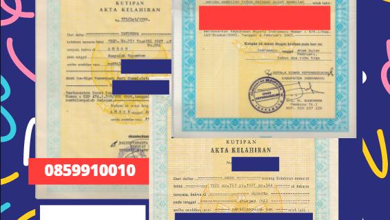 Jasa Legalisir Akta Lahir Indonesia di Częstochowa – Polandia || 08559910010