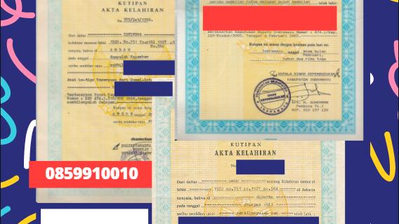 Jasa Legalisir Akta Lahir Indonesia di Łódź – Polandia    08559910010