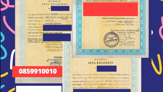 Jasa Legalisir Akta Lahir Indonesia di Žilina – Slowakia || 08559910010