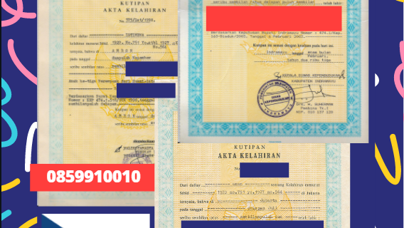 Jasa Legalisir Akta Lahir Indonesia di Daerah Zlin (Zlínský kraj) – Ceko    08559910010