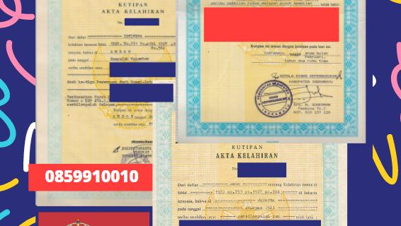 Jasa Legalisir Akta Lahir Indonesia Di Jablanica – Serbia    08559910010