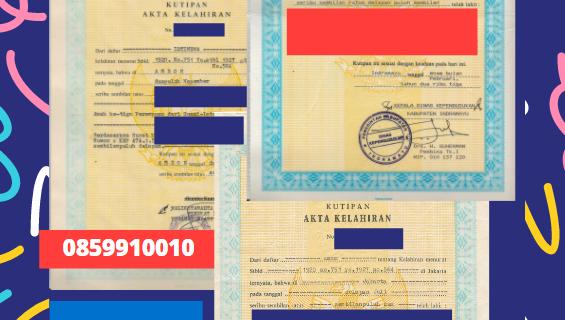 Jasa Legalisir Akta Lahir Indonesia Di Kuressaare – Estonia    08559910010