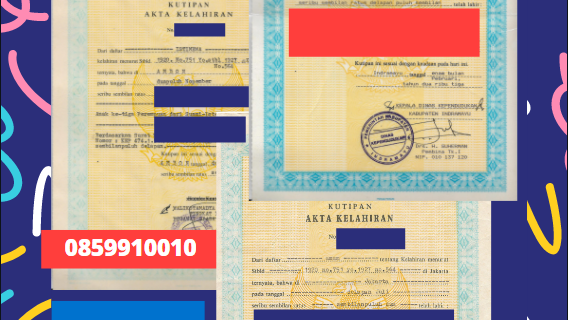 Jasa Legalisir Akta Lahir Indonesia Di Rakvere – Estonia    08559910010