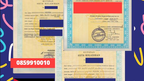 Jasa Legalisir Akta Lahir Indonesia Di Ajloun – Yordania || 08559910010