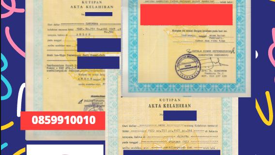 Jasa Legalisir Akta Lahir Indonesia Di Akita – Jepang || 08559910010