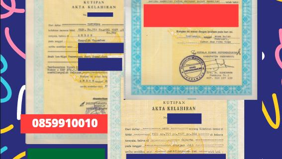 Jasa Legalisir Akta Lahir Indonesia Di Al Ḥudūd ash Shamāliyah – Arab Saudi    08559910010