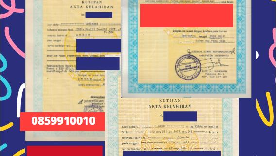 Jasa Legalisir Akta Lahir Indonesia Di Al-Jawf – Yaman    08559910010