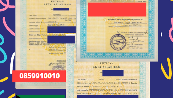 Jasa Legalisir Akta Lahir Indonesia Di Al Farwaniyah – Kuwait    08559910010