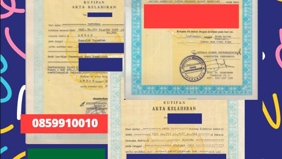 Jasa Legalisir Akta Lahir Indonesia Di Al Madīnah – Arab Saudi || 08559910010