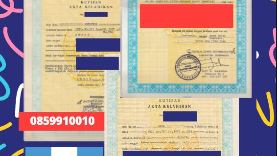 Jasa Legalisir Akta Lahir Indonesia Di Alta Verapaz – Guatemala    08559910010