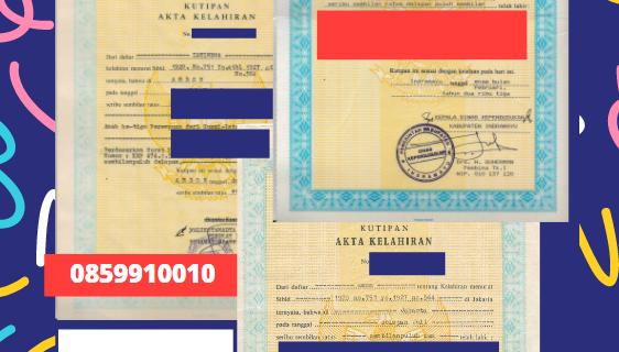 Jasa Legalisir Akta Lahir Indonesia Di Aomori – Jepang || 08559910010