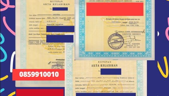 Jasa Legalisir Akta Lahir Indonesia Di At Ta'mim – Irak || 08559910010