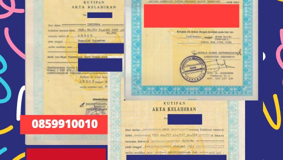 Jasa Legalisir Akta Lahir Indonesia Di Babil – Irak || 08559910010
