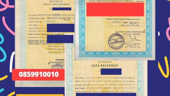 Jasa Legalisir Akta Lahir Indonesia Di Barat Laut – Sri Lanka || 08559910010