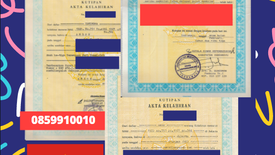 Jasa Legalisir Akta Lahir Indonesia Di Bến Tre – Vietnam || 08559910010