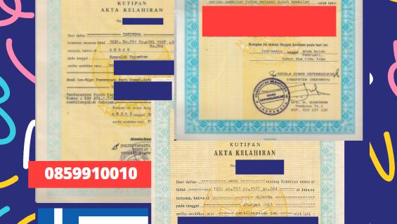 Jasa Legalisir Akta Lahir Indonesia Di Berenike (Epirus) – Yunani || 08559910010