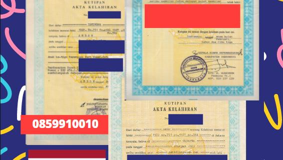 Jasa Legalisir Akta Lahir Indonesia Di Buriram – Thailand || 08559910010