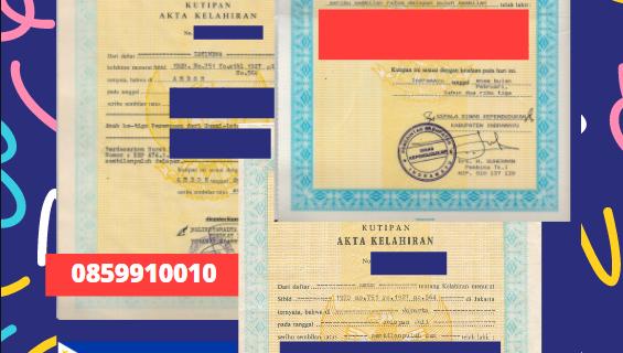 Jasa Legalisir Akta Lahir Indonesia Di Cebu City – Filipina    08559910010