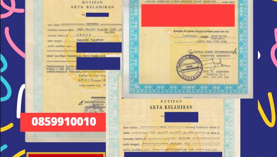 Jasa Legalisir Akta Lahir Indonesia Di Cetinje – Montenegro || 08559910010