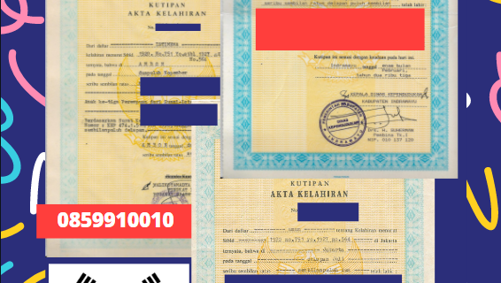 Jasa Legalisir Akta Lahir Indonesia Di Chungcheongbuk – Korea Selatan || 08559910010