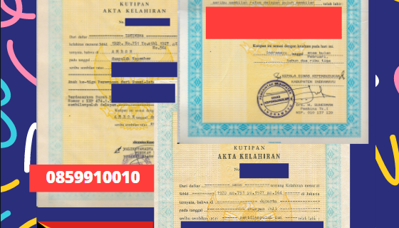 Jasa Legalisir Akta Lahir Indonesia Di Covalima – Timor Leste || 08559910010