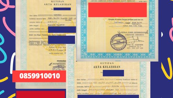 Jasa Legalisir Akta Lahir Indonesia Di Dahuk – Irak || 08559910010