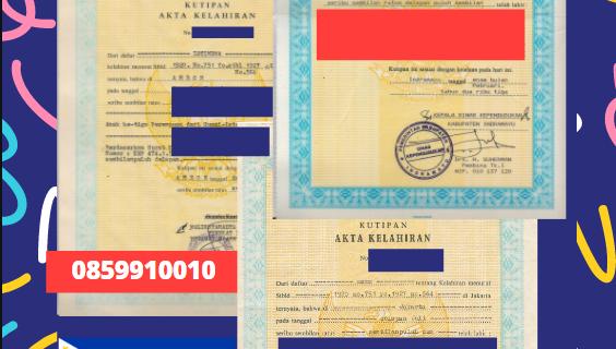 Jasa Legalisir Akta Lahir Indonesia Di Davao City – Filipina    08559910010