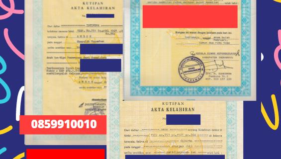 Jasa Legalisir Akta Lahir Indonesia Di Daerah Istimewa Yogyakarta – Indonesia || 08559910010